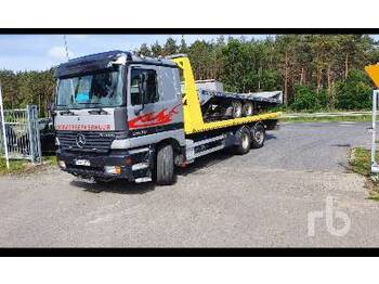 MERCEDES BENZ ACTROS 2835 Tri/A - containertransporter/ wissellaadbak vrachtwagen