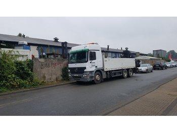 MERCEDES-BENZ Autokran Actros 2644 + Kran Hiab 330-5 + Jib 90 + Seilwinde Rotzler - containertransporter/ wissellaadbak vrachtwagen