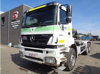 "Containertransporter/ wissellaadbak vrachtwagen Mercedes-Benz Axor 2640 261""km 6x4"
