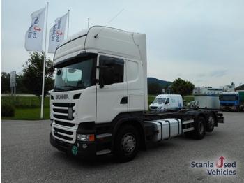 Scania Scania R450LB6X2MNB SCR only !!! - containertransporter/ wissellaadbak vrachtwagen