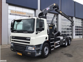 DAF FAN 75 CF 310 HMF 14 ton/meter laadkraan - haakarmsysteem vrachtwagen
