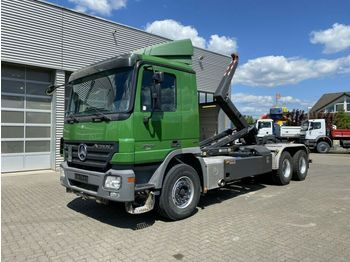 Mercedes-Benz Actros 2646 6x4  Abrollkipper  - haakarmsysteem vrachtwagen