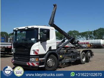 Haakarmsysteem vrachtwagen Scania P360 6x2*4 pde meiller