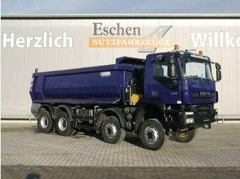 Kipper vrachtwagen Iveco AD 410 T45W, 8x8, EEV, 18m³ Hardox, Klima, Blatt