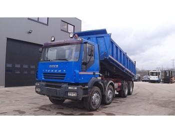 Kipper vrachtwagen Iveco Eurotrakker 340 E 34 (BIG AXLE / STEEL SUSPENSION / MANUAL PUMP)