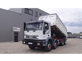 Kipper vrachtwagen Iveco Eurotrakker 410 E 42 (BIG AXLE / STEEL SUSPENSION / MANUAL PUMP)