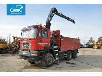 MAN 33.414 6x6 - kipper vrachtwagen