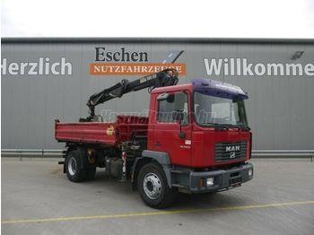 MAN ME 18.250 - kipper vrachtwagen