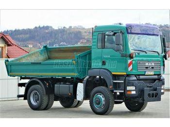 MAN TGA 18.310 4x4 3 old. Billencs - kipper vrachtwagen