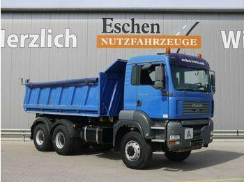 Kipper vrachtwagen MAN TGA 26.390 BB, 6x6, Meiller 3-Seiten, Klima