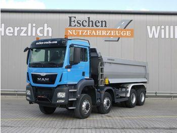 Kipper vrachtwagen MAN TGS 35.440 8x6 BB, Klima, Blatt