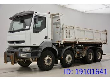 Kipper vrachtwagen Renault Kerax 420 DCi - 8x4