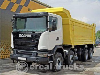 SCANIA 2015 G 400 AC E5 8X4 HARDOX TIPPER - kipper vrachtwagen