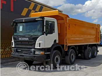 SCANIA 2016 P400 AUTO AC 8X4 EURO5 HARDOX TIPPER - kipper vrachtwagen