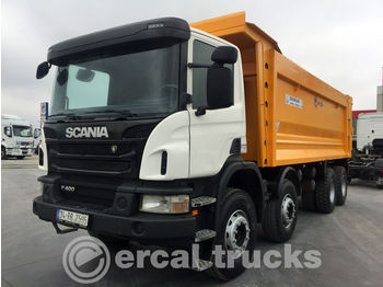 SCANIA 2016 SCANIA P400 AUTO AC 8X4 EURO5 HARDOX TIPPER 7 PCS - kipper vrachtwagen