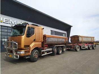 Kipper vrachtwagen SISU SISU R 500 8x2 R 500 8x2
