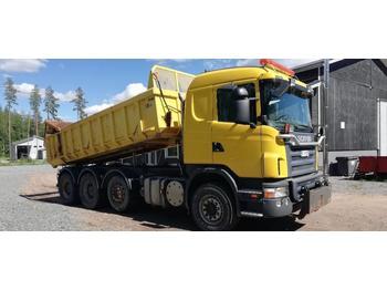 Kipper vrachtwagen Scania G420 8x4