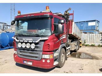 Scania P 420  - kipper vrachtwagen