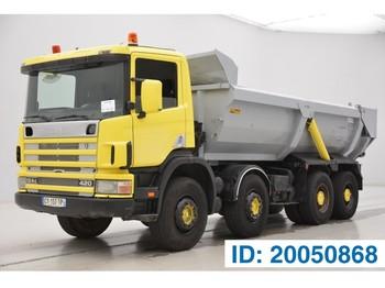 Kipper vrachtwagen Scania R124.420 - 8x4