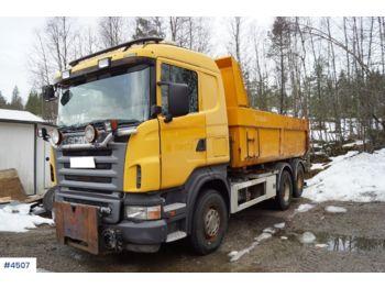 Kipper vrachtwagen Scania R500