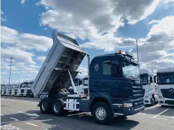 Kipper vrachtwagen Scania R500 6X4 Retarder Manual