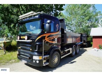 Scania R620 - kipper vrachtwagen