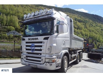 Scania R620 6x4 kombibil - kipper vrachtwagen