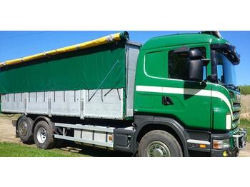 Kipper vrachtwagen Scania R 500 LB