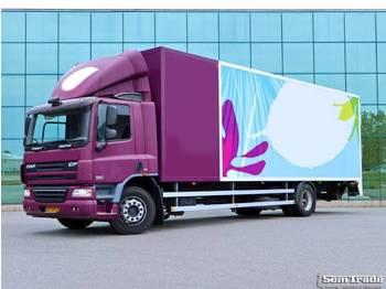 DAF FA CF75.250 EURO 5 16 KARREN BAK HEIWO 2 TONS KLEP KACHEL - koelwagen vrachtwagen