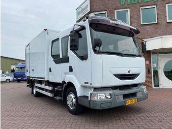 Renault MIDLUM 180-08/D CREWCAB - koelwagen vrachtwagen