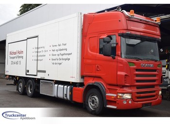 Koelwagen vrachtwagen Scania R500 V8, 345.000 km!, 6x2, Euro 4, Truckcenter Apeldoorn