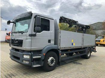 Openbakwagen vrachtwagen MAN TGM 18.340 Pritsche Kran ATLAS 105.2 *Hochsitz
