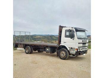 SCANIA 93M 210 left hand drive 17 ton on springs - openbakwagen vrachtwagen