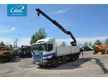 SCANIA P 114 - openbakwagen vrachtwagen