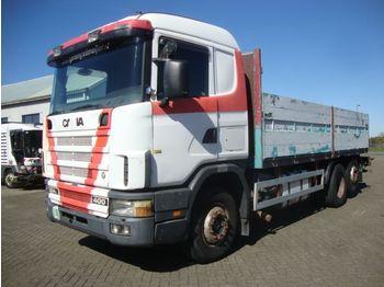 Openbakwagen vrachtwagen Scania 124-400