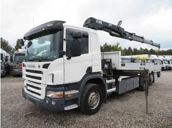 Scania P340 6x2*4 Hiab 166 D-3 Hiduo - openbakwagen vrachtwagen