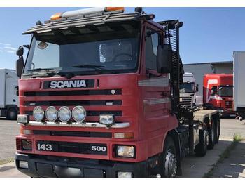 Scania R 143 HL  - openbakwagen vrachtwagen