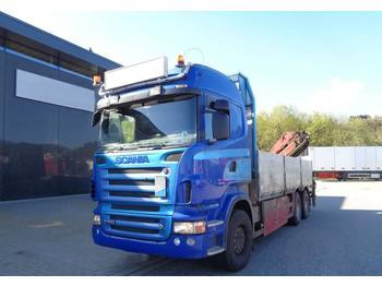 Scania R 560 6x2 crane truck HMF 1820 Euro 4 and 560 CV  - openbakwagen vrachtwagen