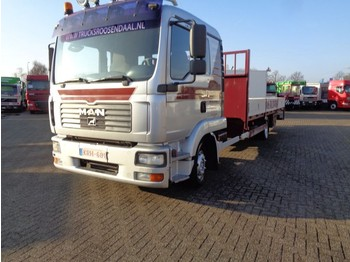 MAN TGL 12.240 + MANUAL - platte vrachtwagen