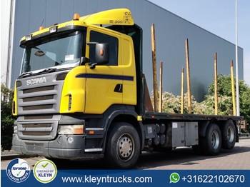 Scania R500 6x2 full steel man. - platte vrachtwagen