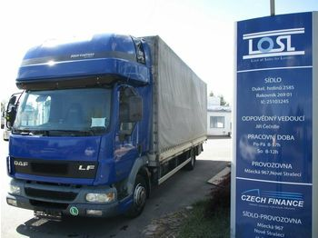 DAF LF45.220 EURO 3  - schuifzeilen vrachtwagen