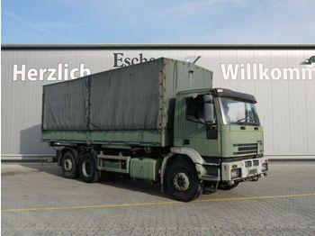 Schuifzeilen vrachtwagen Iveco 240 E 38 Pritsche / Plane