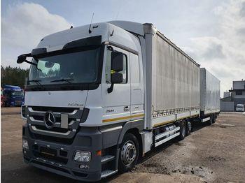 MERCEDES-BENZ MERCEDES-BENZ KRONE ACTROS 2541 ACTROS 2541 - schuifzeilen vrachtwagen