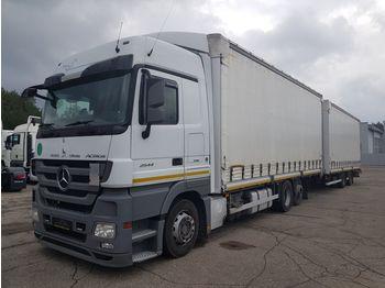MERCEDES-BENZ MERCEDES-BENZ WIELTON ACTROS 2544 ACTROS 2544 - schuifzeilen vrachtwagen