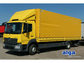 Schuifzeilen vrachtwagen Mercedes-Benz 1218 L Atego, 8,1 m. lang, LBW, Euro 6, Klima!