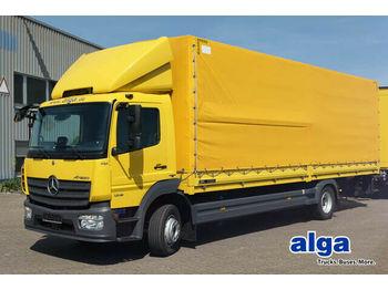 Schuifzeilen vrachtwagen Mercedes-Benz 1218 l Atego, 8,1 m. lang, Euro 6, klima, AHK!