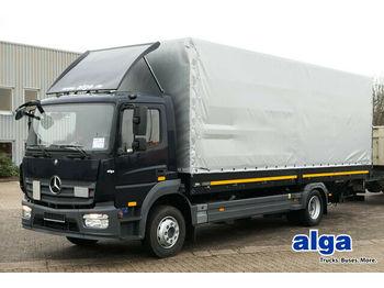 Schuifzeilen vrachtwagen Mercedes-Benz 1223 L Atego, HU NEU, Plane NEU, Euro 6, AHK