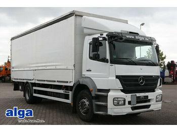 Schuifzeilen vrachtwagen Mercedes-Benz 1833 Axor/7,25 m. lang/1,5 t. LBW/AHK/Gardine