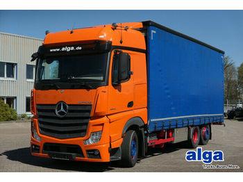 Mercedes-Benz 2542 LNR Actros 6x2, Jumbo, Gardine,7.500mm lang  - schuifzeilen vrachtwagen
