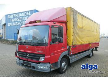 Schuifzeilen vrachtwagen Mercedes-Benz 818 L Atego, 7.100mm lang, Edscha, euro 4, 180PS